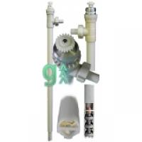 Пневматический бочковой насос с патрубком PVDF